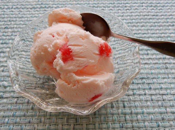 Marachino cherry ice cream picture 2